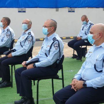 טקס החלפת מפקדים בתחנת משטרת שרת בתל אביב