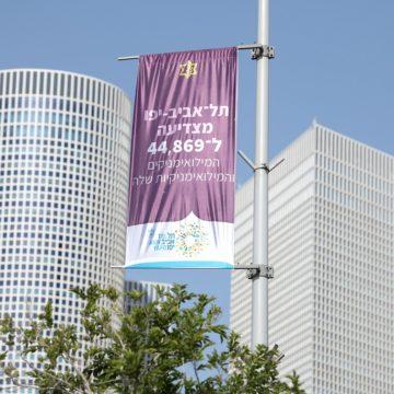 העיר תל אביב- יפו שיאנית במספר משרתות ומשרתי המילואים בארץ: 44,869